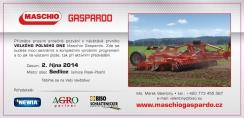 Polní den Maschio Gaspardo 2014