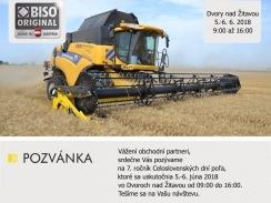Celoslovenské dni pola 2018