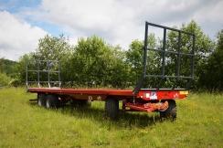 WTC Písečná PLT 14 - traktorový přepravník balíků