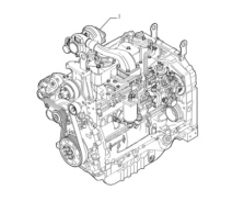 87538333 - polomotor pro TL90A, TL100A