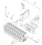 710227120 – přední závaží včetně držáku pro T5, T5000, TLA