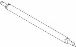 46110016 - tažná tyč D55x1120 L3 Z3