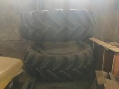 1x dvojmontáž s pneumatikami 620/70R42 - Goodyear