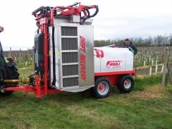 Friuli Drift Recovery 600 – 3000 l, ovládání počítačem