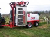 Recyklační rosič Friuli Drift Recovery 600 – 3000 l, ovládání počítačem