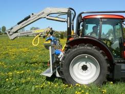 WOODMAN - konzole pro nakládací rameno pro traktory