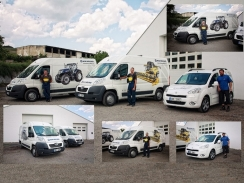 Nová flotila servisních vozů