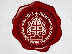 Ocenenie - Bonitný podnik / Pečať bonity