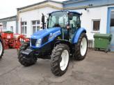 Školení mlátiček NH a traktorů T4, T5