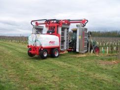 Předváděcí akce Friuli recyklační rosič