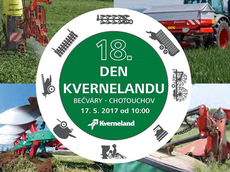 Pozvánka na 18. Den Kvernelandu