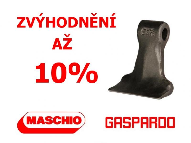 Zvýhodnění na díly pro mulčovače Maschio