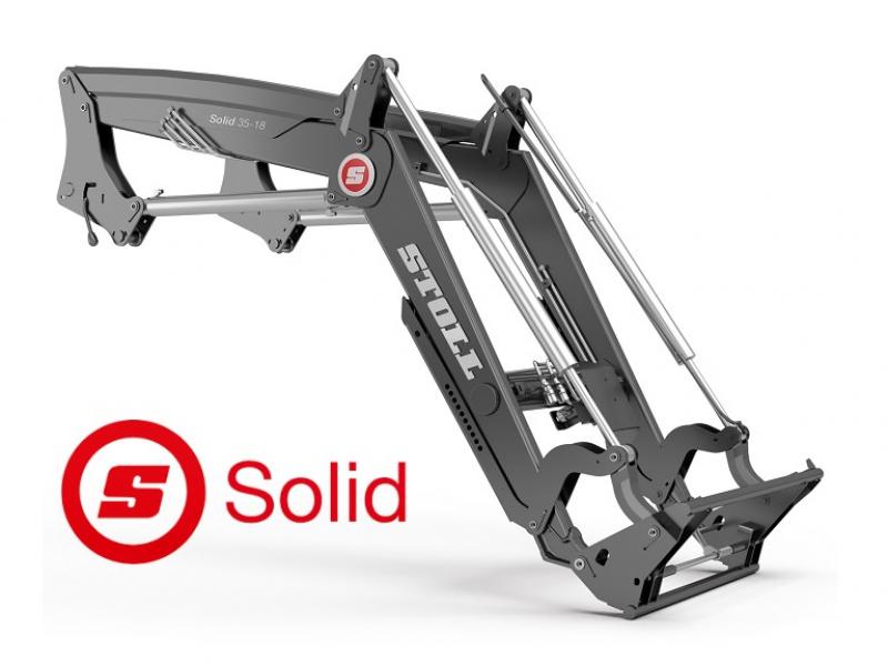 Nový čelní nakladač Stoll Solid
