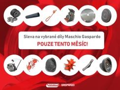 Sleva na vybrané díly Maschio Gaspardo