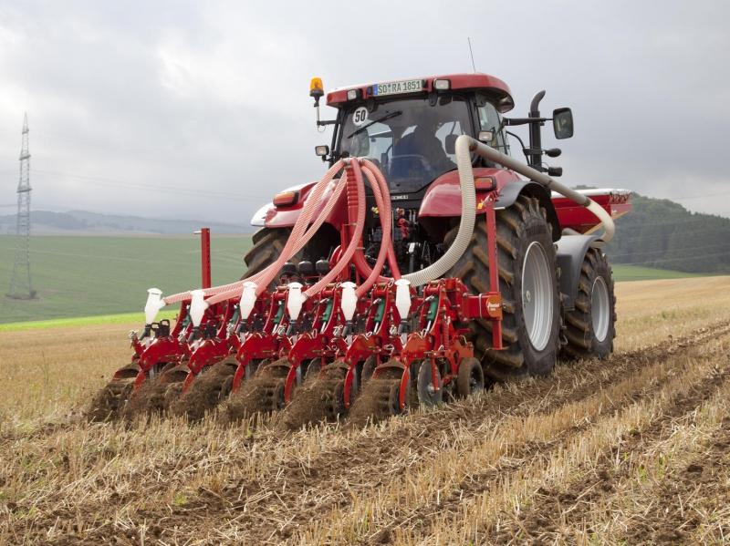 StripTill – pásové zpracování půdy