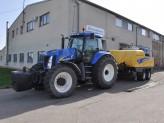 Předání soupravy New Holland traktoru a lisu
