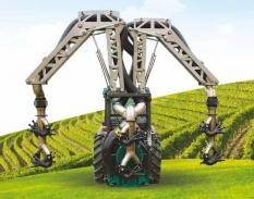 ROB3 - evoluce portálového rosiče do vinic a sadů