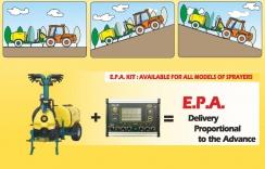 E.P.A. - proporciální dávkování v závislosti na rychlosti