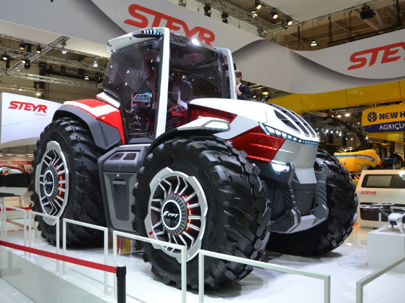 Agritechnica 2019: Steyr