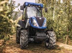 Odpružení nápravy u speciálních traktorů T4 do vinice