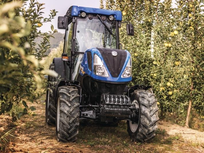 Odpružení nápravy u speciálních traktorů T4