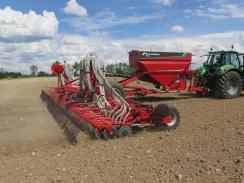 Kverneland upravuje přesnost u secích strojů DG