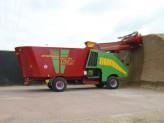 Samochodný krmný vůz zvyšuje efektivitu