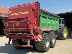 Rozmetadlo statkových hnojiv Strautmann VS 2005