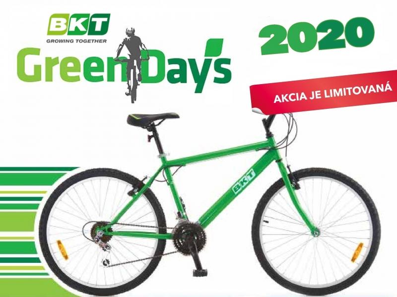 Pneumatiky BKT a bicykel Vám pošleme zdarma