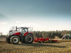 Kabina traktorů Steyr chrání posádku více než kdy jindy
