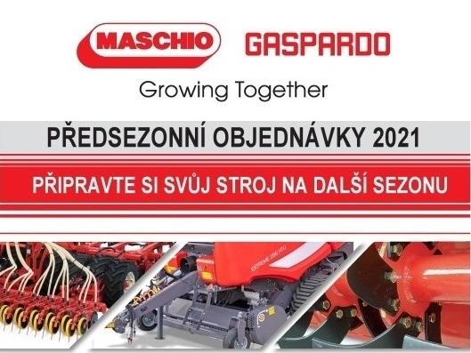 Předsezonní objednávky ND Maschio Gaspardo