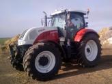 Předání traktoru Steyr CVT 6160 Profi
