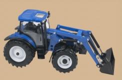 New Holland T6020 s nakladačem